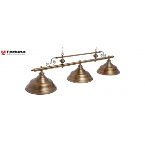 Светильник Fortuna Billiard Equipment Fortuna Verona Bronze Antique 3 плафона